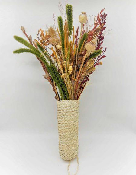 Panier suspendu pour pot de fleurs séchées