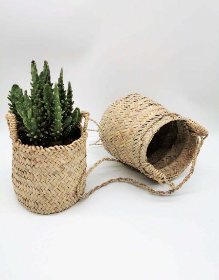 Panier suspendu pour pot de fleurs ou plantes