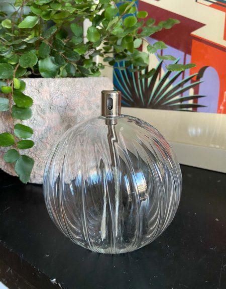 Lampe à huile sphérique striée - Taille M