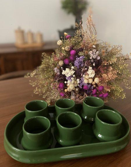 set cafe vert gazon 1