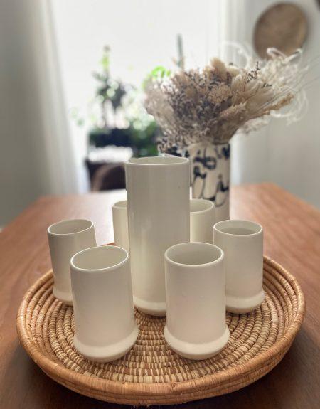 set eau blanc 3